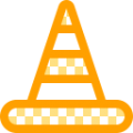 Traffic cone icon.png
